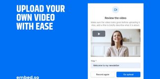 This tool facilitates the integration of videos on a site to make it more attractive!